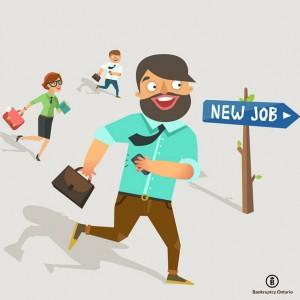 bankruptcy job change